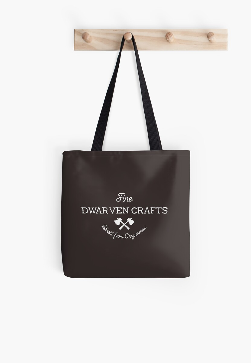 Fine Dwarven Crafts Direct From Orzammar Tote Bags By Asirensong