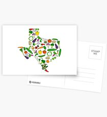Farm Fresh Texas Postcards