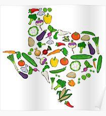 Farm Fresh Texas Poster