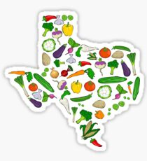 Farm Fresh Texas Sticker