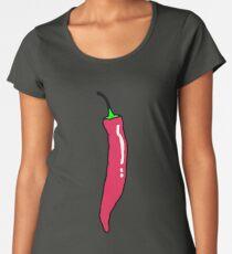 Spicy Red Hot Chili Pepper Women's Premium T-Shirt