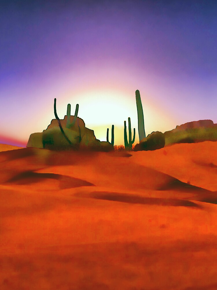 Desert Sands by valzart