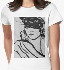 Rock Star Wall Women's Fitted T-Shirt