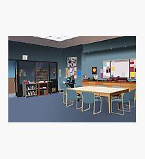 Study Room Photographic Print