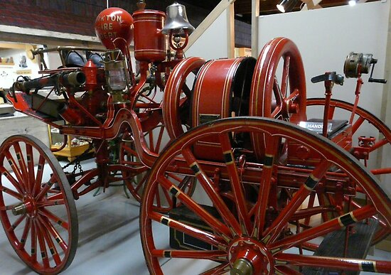Yorkton,Sask,Canada's First Fire Engine by MaeBelle