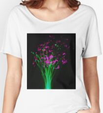 neon flowers Women's Relaxed Fit T-Shirt