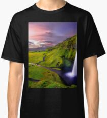 Photography Wallpaper Landscape Iceland Classic T-Shirt