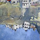 Reflected Staithes by Sue Nichol