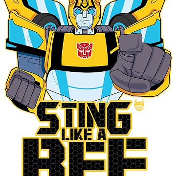 STING LIKE A BEE by nicitadesigns