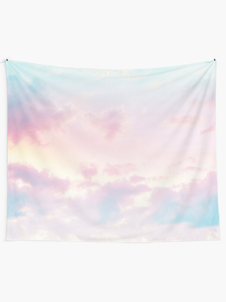 865fc0c1746d7 Unicorn Pastel Clouds #2 #decor #art