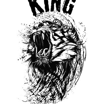 King Lion I Love Lions by wrightboy62