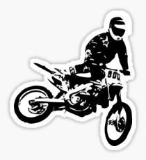 Dirt Bike - Motocross Big Jump Sticker
