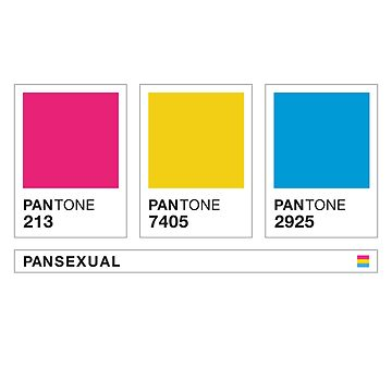 Pansexual Flag Swatches by BendeBear