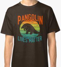 Pangolin lebt - Pangolin-Erhaltung Classic T-Shirt