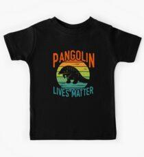 Pangolin lebt - Pangolin-Erhaltung Kinder T-Shirt