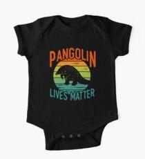 Pangolin lebt - Pangolin-Erhaltung Baby Body Kurzarm