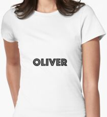 Font Name Oliver Women's Fitted T-Shirt