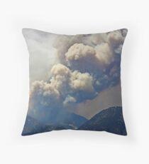 Up In Smoke Throw Pillow