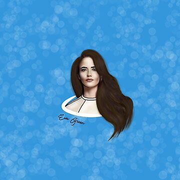 28. Eva Green Outline Design by HookedDuckling