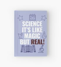 Science like magic Hardcover Journal