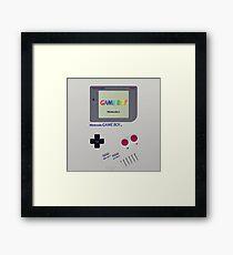 Gameboy Color Classic Framed Print