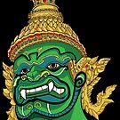 Thai Demon Green by Malchev