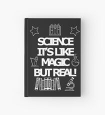 Science Real magic Hardcover Journal