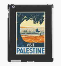 Vintage Travel Poster Visit Palestine iPad Case/Skin