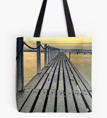 Walk the golden plank Tote Bag