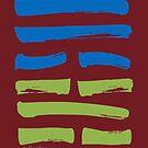 59 Reuniting I Ching Hexagram by SpiritStudio