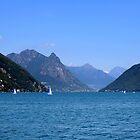 Lake Lugano by annalisa bianchetti