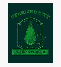 Starling City Vigilante Club 2 Photographic Print