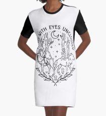 Vestido camiseta Para ver con los ojos sin nubes