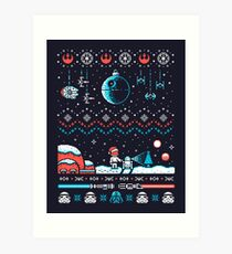 HOLIDAY FAR FAR AWAY Art Print