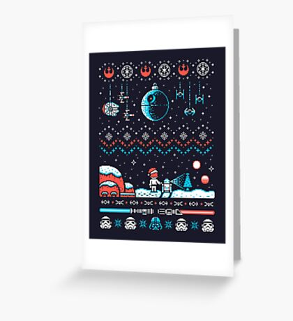HOLIDAY FAR FAR AWAY Greeting Card
