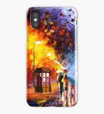 Starry Night Tardis iPhone Case