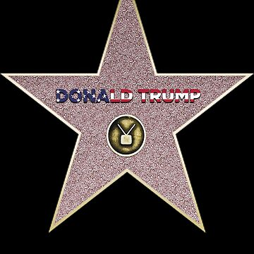 Hollywood Walk of Fame Star Trump by mohsenmohamed