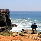 Gone fishin' - Cliff fishing at Cabo de São Vicente, Portugal by WesternExposure