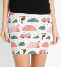 Summer days pattern Mini Skirt