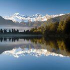 Lake Matheson by Paul Mercer