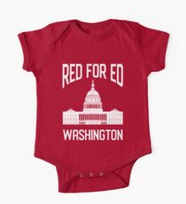 Red for Ed  One Piece - Short Sleeve