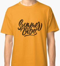 Summer Vibes | Calligraphy Classic T-Shirt