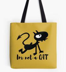 I'm not a cat Luci Tote Bag