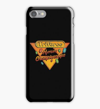 HYRULE CHAMPIONSHIPS iPhone Case/Skin