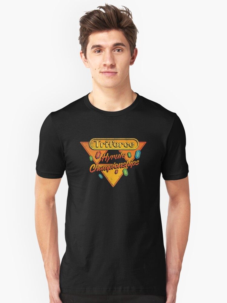 HYRULE CHAMPIONSHIPS Unisex T-Shirt Front