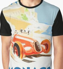 Grand Prix Monaco 1937 Grafik T-Shirt
