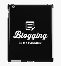 Blog Vintage logo iPad Case/Skin