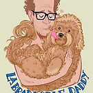 DOLLOP - Labradoodle Daddy Too by James Fosdike