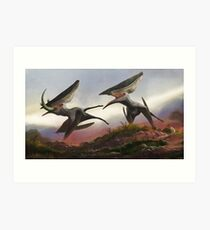 Thalassodromeus sethi, Supercrested Flugsaurier Kunstdruck