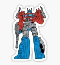 Transformers 80's Sticker